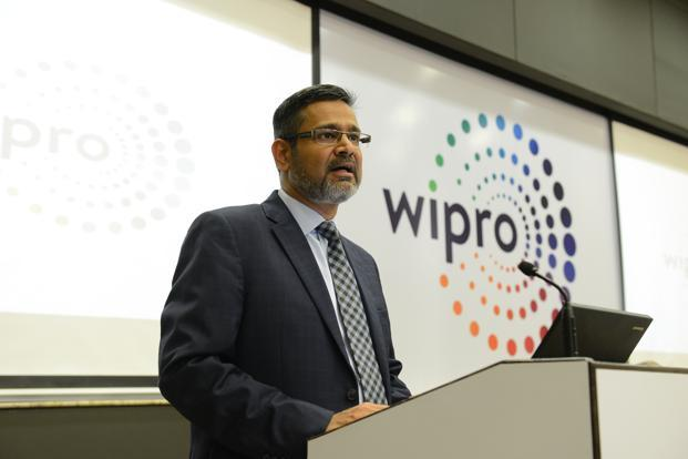 Abidali Neemuchwala also said that Wipro  has invested in some very specific IPs which are internal company IPs, and also bagged a very significant deal with a customer couple of quarters back. Photo: Aniruddha Chowdhury/Mint
