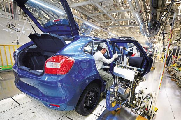 Higher raw material costs also ate into Maruti Suzuki's margins. As a percentage of sales, they rose by 220 basis points year-on-year. Photo: Ramesh Pathania/Mint