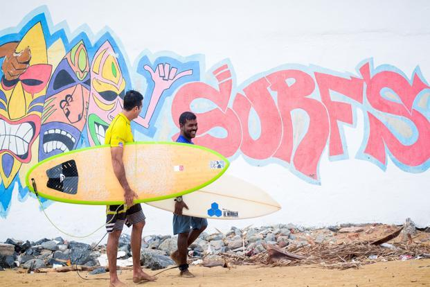 Murthy is in charge of the surf school but has a say in all other matters as well.