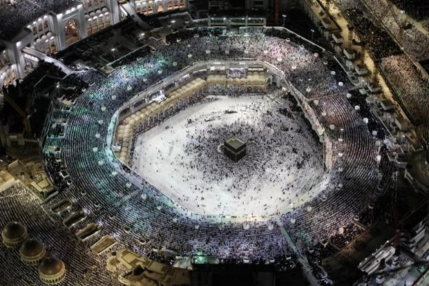 More than two million Muslims from around the world make the annual pilgrimage, or Hajj, to Mecca, one of the five pillars of Islam. Photo: AFP