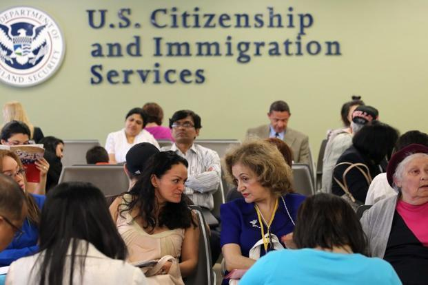 More than 700,000 high-skilled immigrant workers from India are in the US today on temporary work visas. Photo: AFP