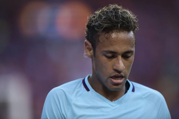 "A personal appearance by Neymar in China next week was cancelled because he was said to be ""busy with transfer business"". Photo: AFP"