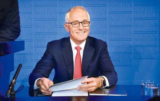 Australian Prime Minister Malcolm Turnbull says these operations are designed to disrupt and prevent plans to undertake terrorist attacks in Australia. Photo: Bloomberg