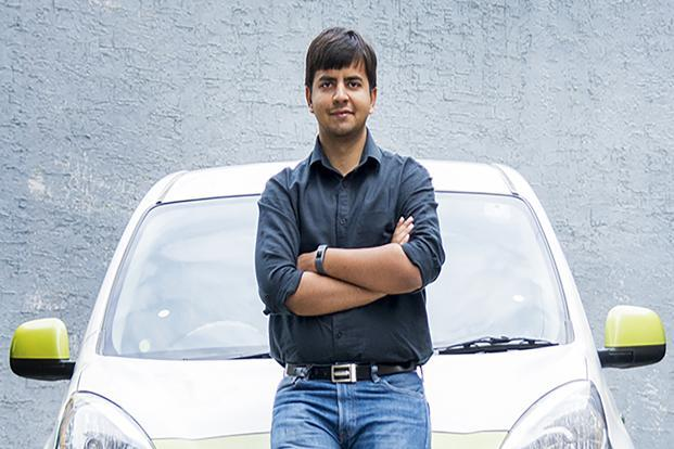 Ola founder Bhavish Aggarwal. SoftBank is the largest investor in the Indian cab-hailing firm.