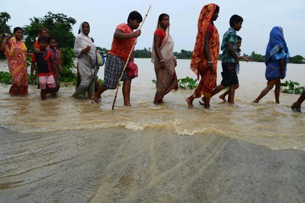40000 families hit as Assam floods make land uncultivable