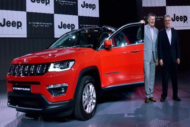 The Jeep Compass will be available in three trims—Sport, Longitude and Limited—and ten variants. Photo: PTI