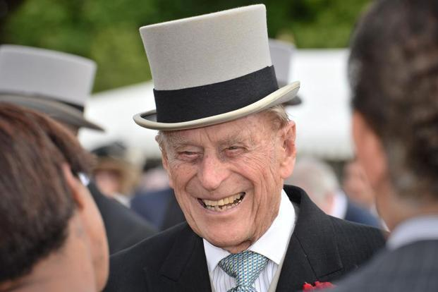 It had been announced earlier this year that Prince Philip would retire by August. Photo: AFP