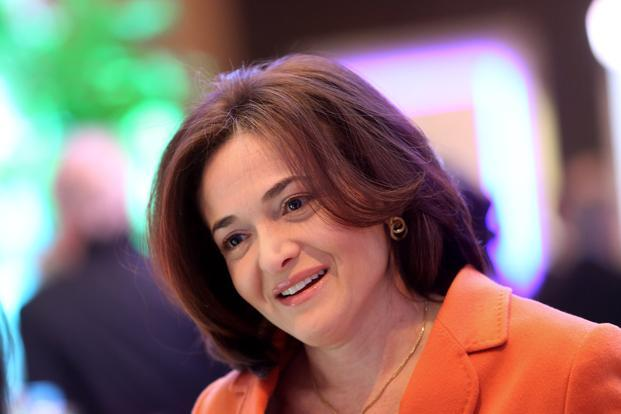 File photo. Facebook COO Sheryl Sandberg called for public policy changes to improve women's pay. Photo: Bloomberg