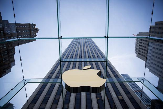 Apple's revenue rose to $45.41 billion from $42.36 billion in the quarter, typically the company's weakest. Analysts on average had expected $44.89 billion. Photo: AFP