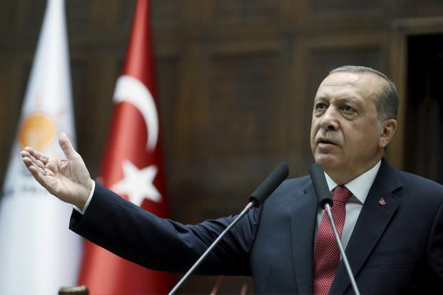 Turkey President Recep Tayyip Erdogan was the prime minister of Turkey from 2003 to 2014 when he became president and further consolidated his powers after a failed coup on 15 July, 2016. Photo: AP
