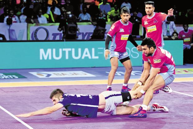 Pro Kabaddi League has outperformed other sports both in terms of viewership and ad revenue. Photo: AP