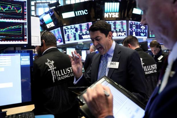 The Dow pierced through the historic 20,000 milestone in January and the 21,000 mark barely one and a half months later. Photo: Reuters