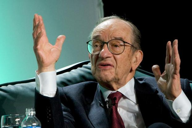 According to Alan Greenspan, the US has been in a period of stagnation since 2008 due to the sharp decline of capital investment and productivity growth. Photo: Bloomberg