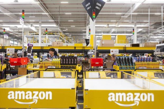 With new 3 Amazon fulfilment centres, the total number of such facilities will increase to 41 in the country. Photo: Bloomberg