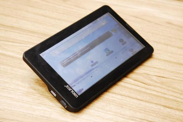 Datawind made the world's cheapest tablet Aakash for the government after winning the contract to supply one lakh units priced at $49.98 apiece (Rs2,276 at that time) in 2011. Photo: Mint