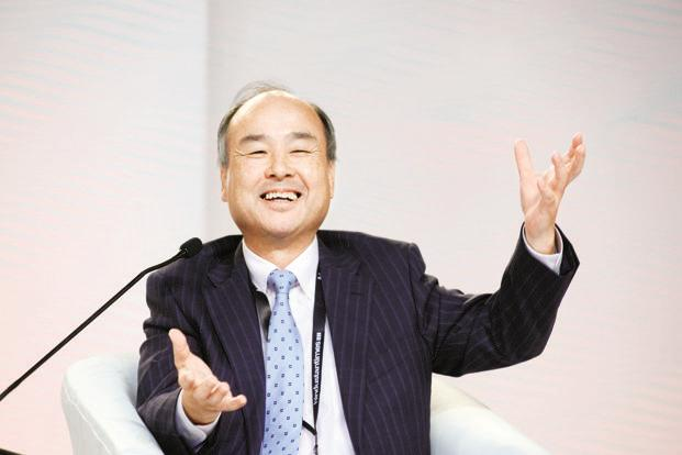 A file photo of SoftBank chief Masayoshi Son. Photo: Ramesh Pathania/Mint