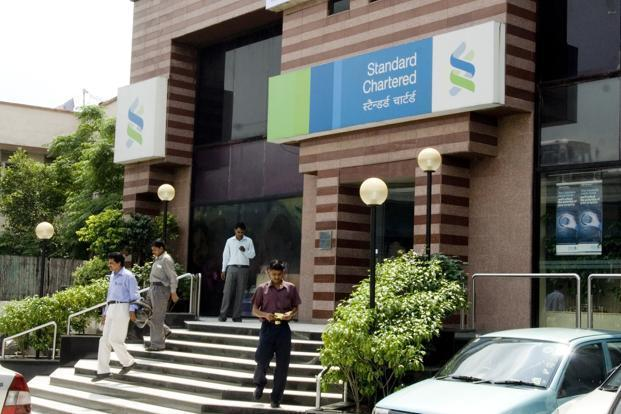 Standard Chartered plunged as much as 6%, the biggest drop since November. Photo: Mint