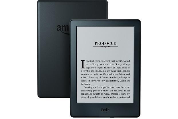 The All-New Kindle has a 6-inch e-ink display which doesn't reflect in bright light.