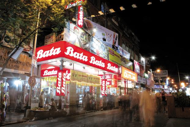 Bata India shares jumped 6.61% to settle at Rs622.05 on BSE. Photo: Hindustan Times