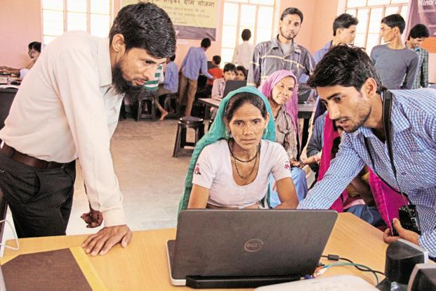 Between 2016 and 2019, DEF's digital entrepreneurs are expected to serve 350,000 individuals. Photo: Hemant Mishra/Mint