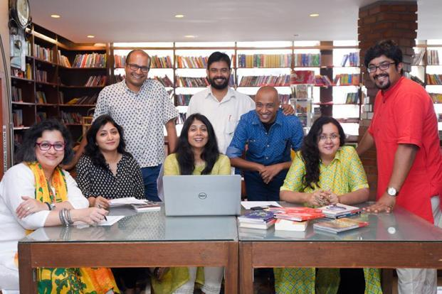 The team behind the Bengaluru Poetry Festival.