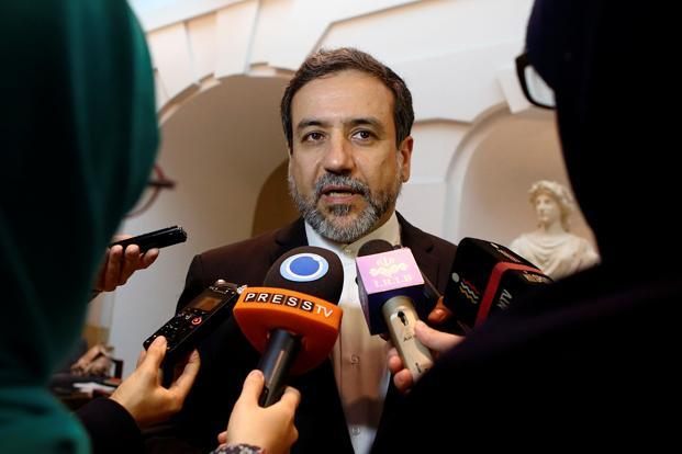 File photo. Iran deputy foreign minister Abbas Araghchi says Iran will come up with a 'smart' reaction to the US sanctions . Photo: Reuters