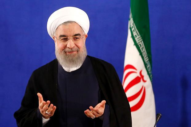 A file photo of Iran president Hassan Rouhani. Photo: AFP