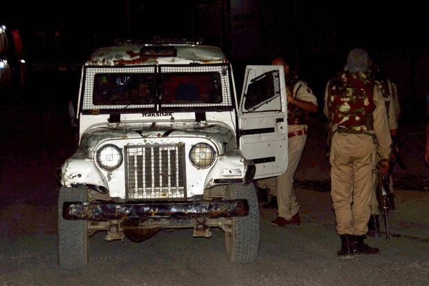 Security forces start search operation in Anantnag