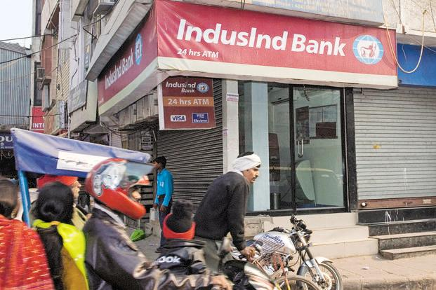Shares of IndusInd Bank have surged over 50.36% so far this year with investors lapping up the stock on the hopes of continued strong core performance, higher credit growth margins and stable asset quality.  Photo: HT