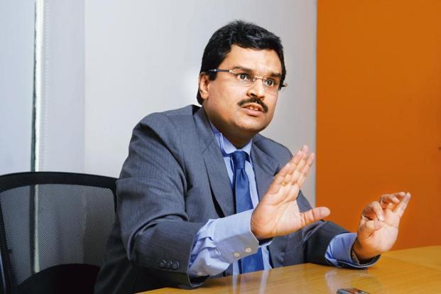 Jignesh Shah, chairman emeritus of 63 Moons Technologies, formerly FTIL. Sebi, as part of its probe in NSEL scam, has charged 16 current and former executives of FTIL and MCX of insider trading and making gains totalling Rs125 crore. Photo: Mint