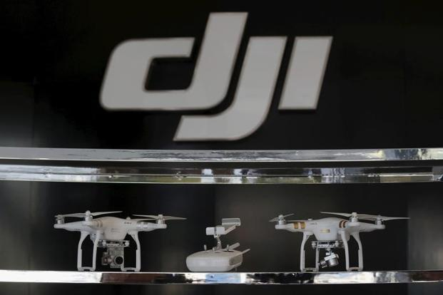 The move appears to follow studies conducted by the Army Research Laboratory and the Navy that said there were risks and vulnerabilities in DJI products. Photo: