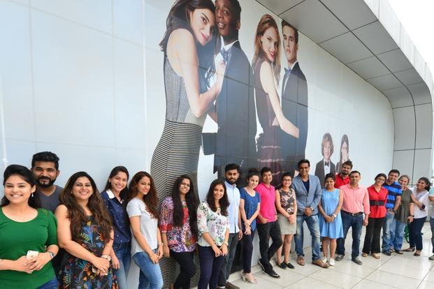 With 333 people, Benetton India is based in Gurgaon on the outskirts of Delhi. Photo: Ramesh Pathania/Mint