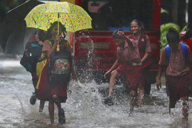 Monsoon rains have delivered 1% less rainfall than normal so far this year, but erratic distribution has flooded some areas while leaving others in drought. Photo: AP