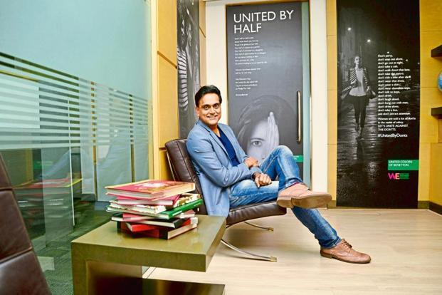 Sundeep Chugh, chief executive of Benetton India Pvt. Ltd. Photo: Ramesh Pathania/Mint