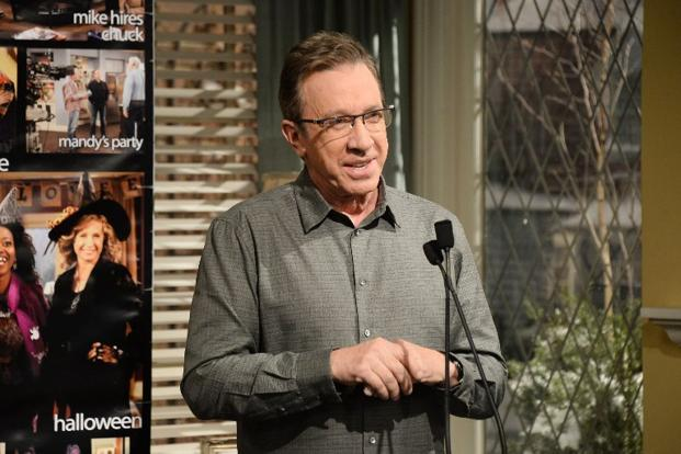 This file shows actor Tim Allen attending the 100th episode celebration of ABC's 'Last Man Standing' at CBS Studios, California. Photo: AFP