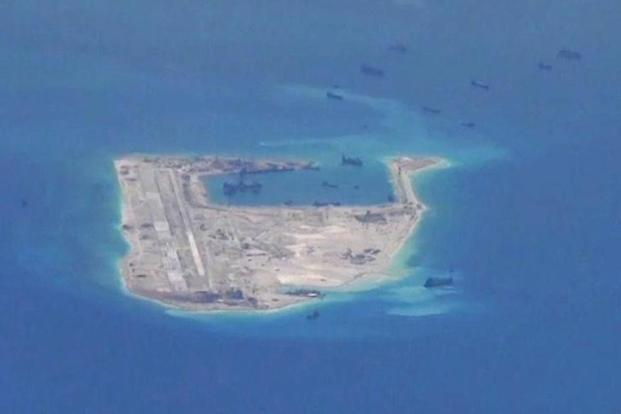 China claims nearly all of South China sea, through which $5 trillion in annual shipping trade passes and which is believed to sit atop vast oil and gas deposits. Photo: Reuters
