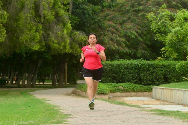 Fartlek training taught Rashmi Mohanty to breathe properly while running. Photo: Ramesh Pathania/Mint