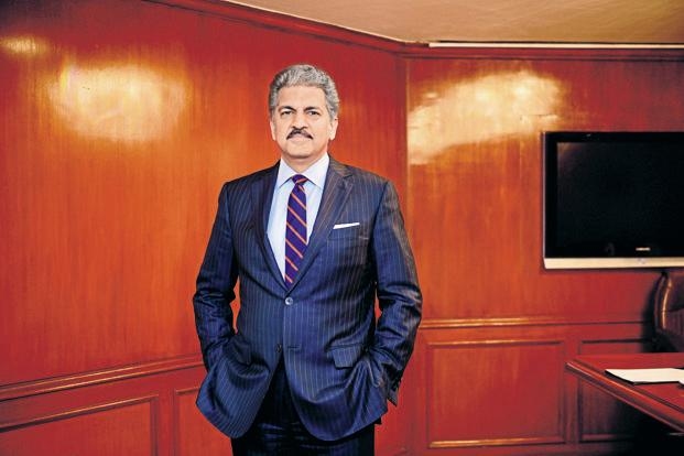 M&M chairman Anand Mahindra. Photo: Pradeep Gaur/Mint