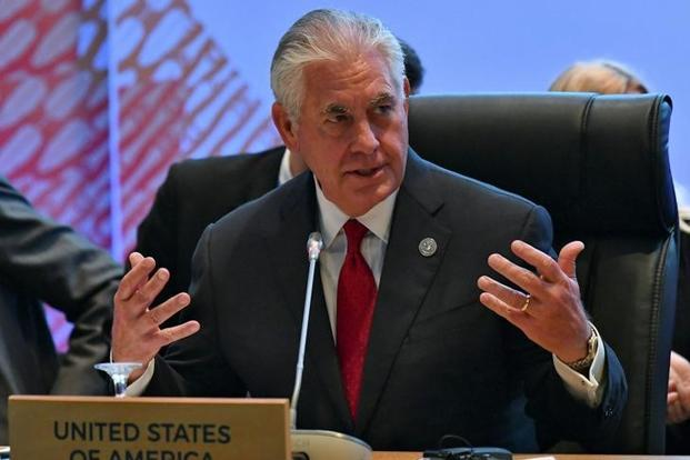 US secretary of state Rex Tillerson. Photo: Reuters