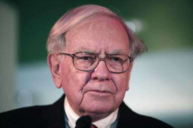 "Warren Buffett addressed Berkshire Hathaway's mounting cash in May, saying he hadn't put his ""foot to the floor"" on an acquisition for a while. Photo: AFP"