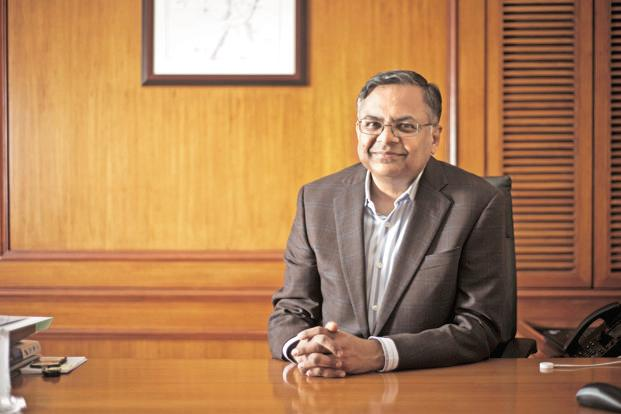Tata Steel chairman N. Chandrasekaran hasn't ruled out acquisition of stressed assets such as Essar Steel and Bhushan Steel to drive inorganic growth. Photo: Aniruddha Chowdhury/Mint