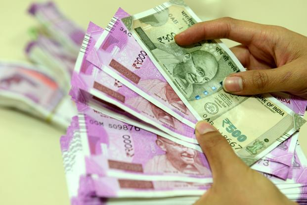 Opposition today forced adjournment of the proceedings in the Rajya Sabha over what it called as the 'biggest scam of this century' in the printing of 2 different sizes for the new currencies. Photo: Mint