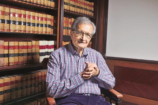 In the documentary, Amartya Sen speaks of social choice theory, development economics and the rise of right-wing nationalism across the world. Photo: Priyanka Parashar/Mint