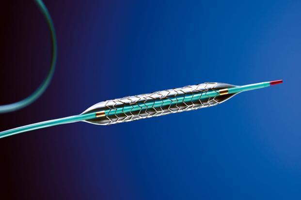 The bioresorbable stents,  made by Abbott's vascular division, are absorbed by the body roughly over three years. Photo: BCG