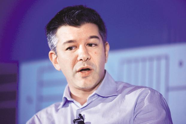 Former Uber CEO Travis Kalanick resigned in June under pressure from top investors, who said he put the company at legal risk during his tenure. Photo: Pradeep Gaur/Mint