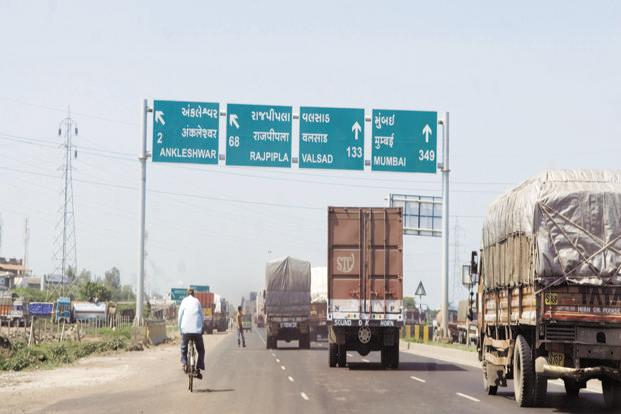 Transportation firms say GST has helped in lowering the travel time between states sharply. Photo: Ramesh Pathania/Mint