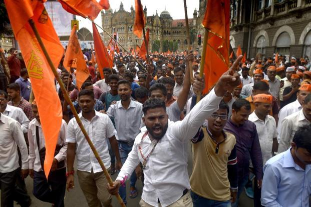 The 58th rally is the concluding protest of a series of 57 marches across Maharashtra by the Maratha community. Abhijit Bhatlekar/Mint