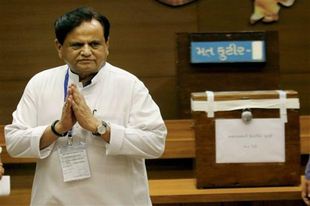Ahmed Patel beat Balwantsinh Rajput, who was till recently the Congress's chief whip in the Gujarat assembly before switching over to the Bharatiya Janata Party (BJP). Photo: PTI