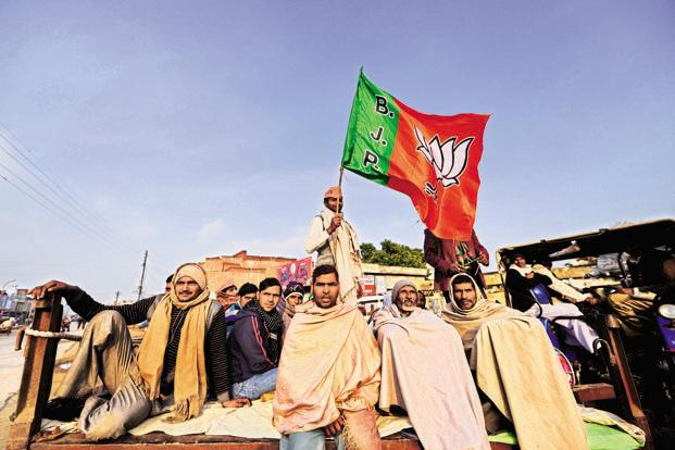 There is no guarantee that the Bharatiya Janata Party (BJP) will be able to maintain the votes-to-seats conversion rate of 2014 in 2019 Lok Sabha elections. Photo: Pradeep Gaur/Mint