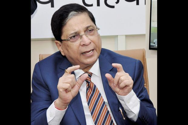 Justice Dipak Misra's appointment as the next Chief Justice of India has been made on the basis of seniority. Photo: PTI